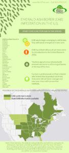 Emerald Ash Borer Infestation Chart Stein Tree Service March 2017