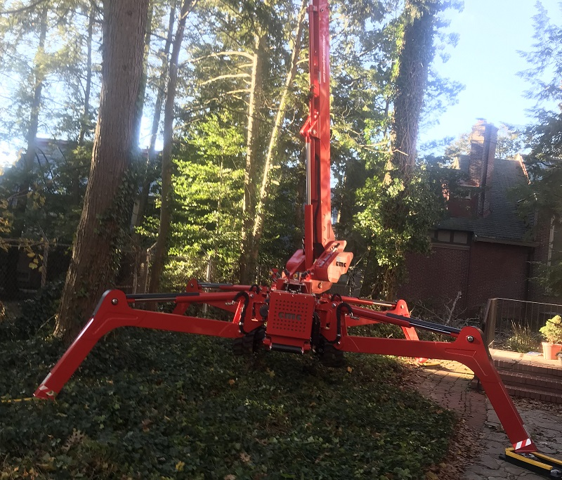 Arbor Pro Mini Lift enables easier and safer tree care - Stein Tree Service