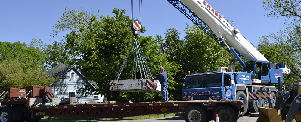 banner construction damage can happen from heavy equipment - Stein Tree Service 1000