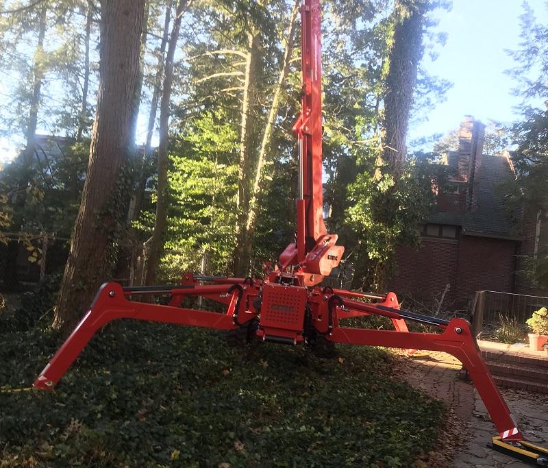 Arbor Pro Mini Lift | trim tall trees | Stein Tree Service